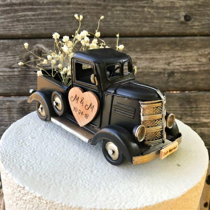 20 Best Rustic Wedding Cake Toppers Photos Emmaline Bride