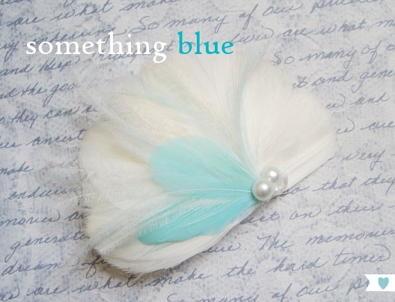 something blue hairpiece