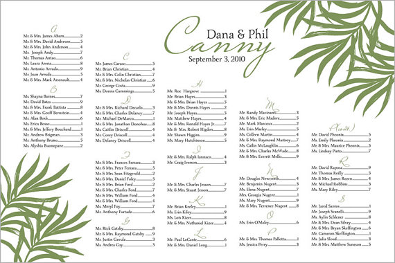 handmade wedding il 570xN.247959761 Wedding Seating Chart:  Why You Need One