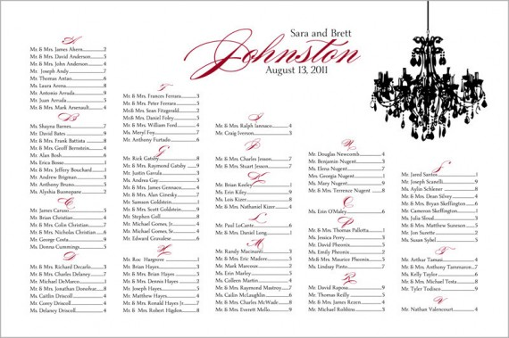 handmade wedding il fullxfull.246210105 e1311614097346 Wedding Seating Chart:  Why You Need One