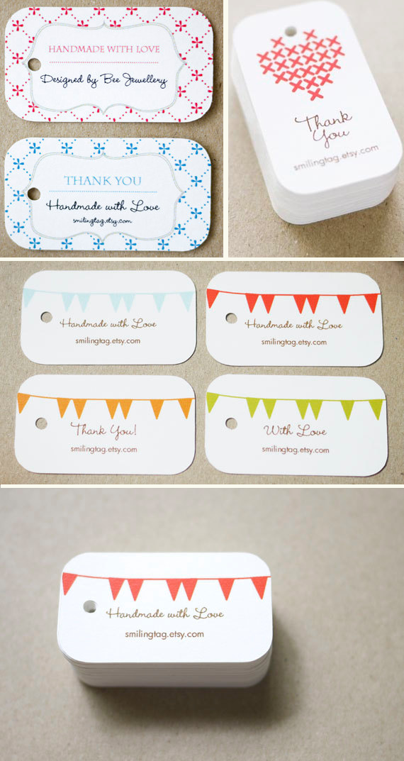 Homemade Wedding Gift Tags : These are just a few of our favorites? check out SmilingTag for more ...