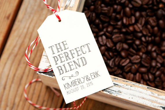 coffee favor tags
