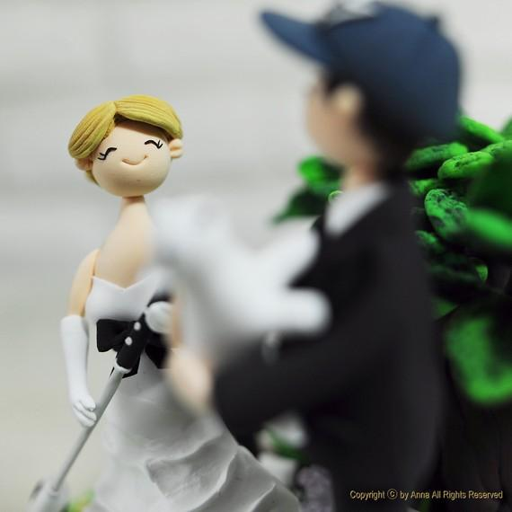 golf themed wedding