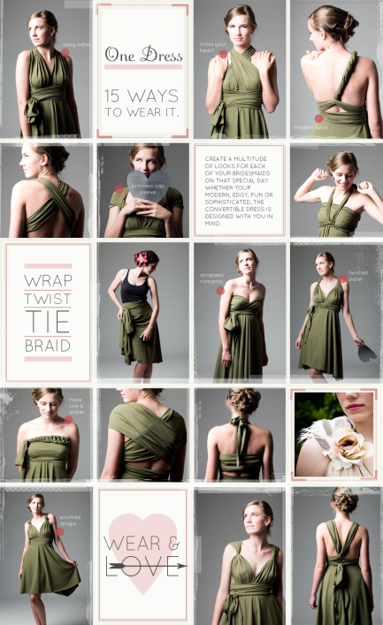 wear a dress 15 different ways