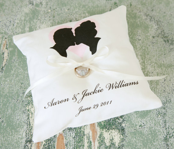 handmade ring pillows