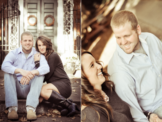 Downtown Marietta Engagement