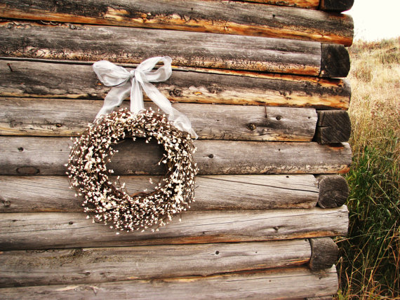 winter wedding wreaths