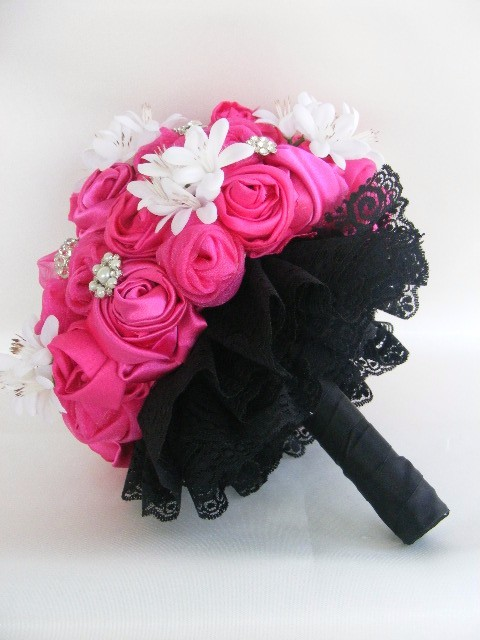 hot pink bouquet