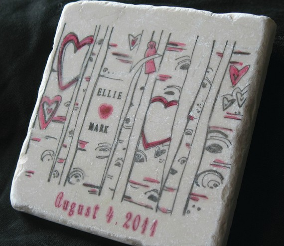 wedding coaster favors