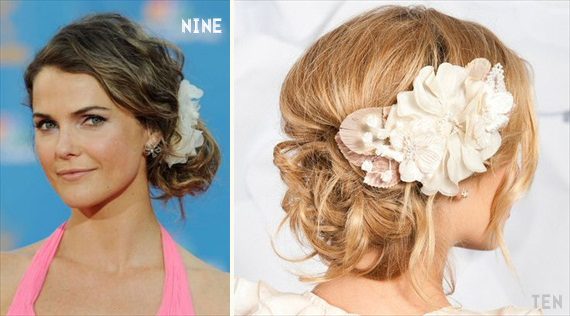 chignon wedding hairstyles