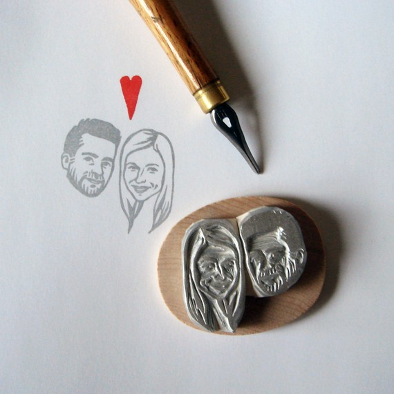 custom face stamp