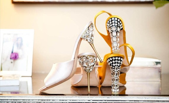 diy jeweled heels from honestly wtf