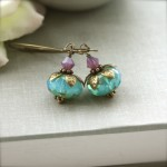 handmade earrings - wedding