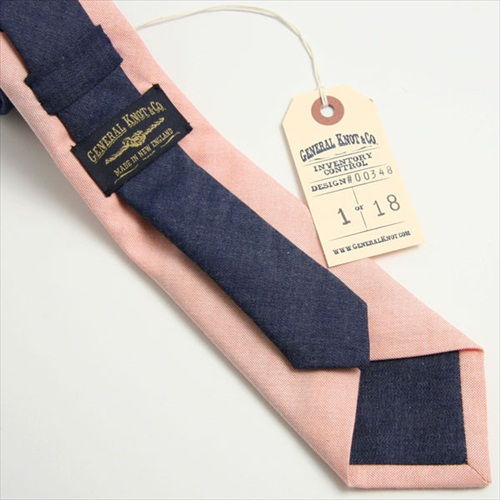 handmade colorblock ties