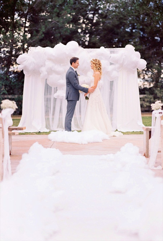 ceremony backdrops balloons 7 Most Inspiring Ceremony Backdrops