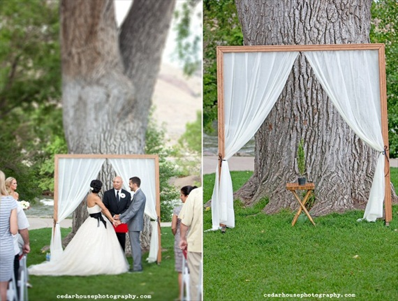 ceremony backdrops curtains 7 Most Inspiring Ceremony Backdrops