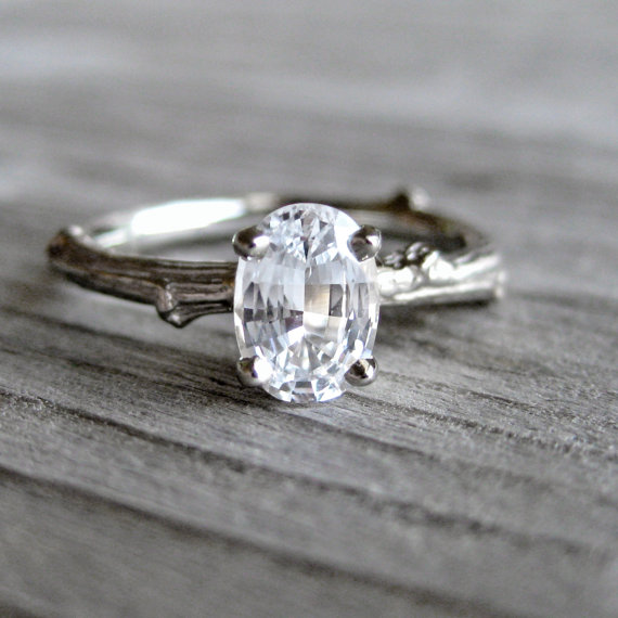 handmade wedding rings | Best Engagement Rings Etsy | via http://emmalinebride.com/jewelry/40-best-handmade-rings-ever/