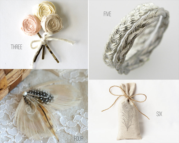 bohemian wedding hair pins
