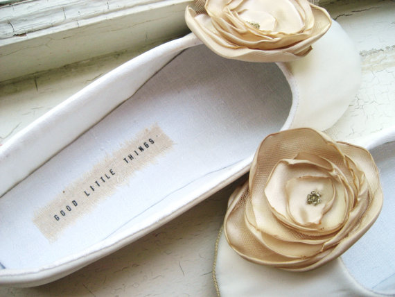 bridal flats slippers
