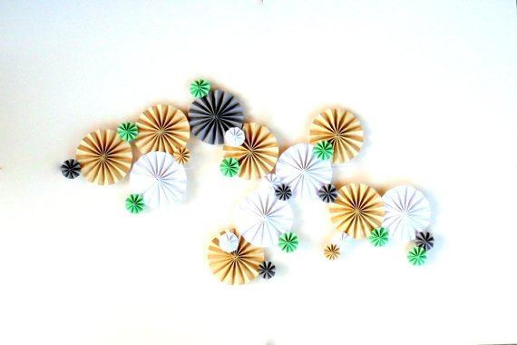 pinwheels for fall and winter weddings