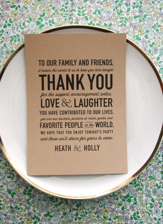 Thank You For Wedding Gift But Didnot Attend : 50 Wedding Acts of KindnessHandmade Wedding Emmaline Bride?
