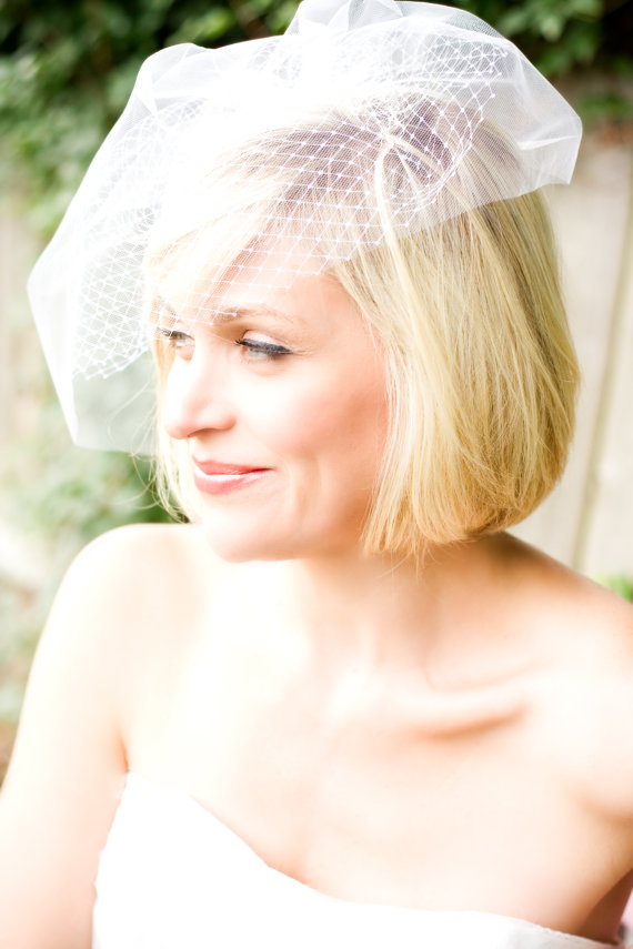 Wedding Veil (by Tiffani Saxton Designs) #handmade #wedding