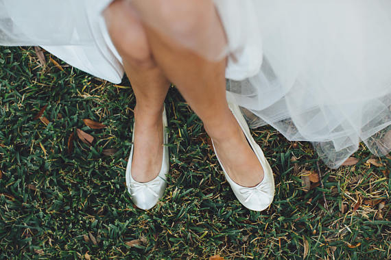 Wedding Shoes For Ivory Dress 36 Luxury by cinderollies