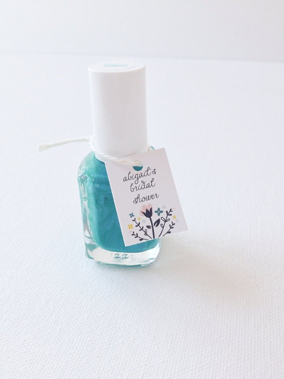 nail polish bridal shower favors