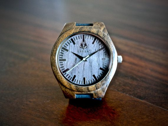 Wood watches for groomsmen by Badger Watches | via Wood Themed Wedding Ideas: http://emmalinebride.com/themes/wood-themed-wedding-ideas/