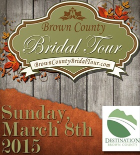destination brown county bridal tour