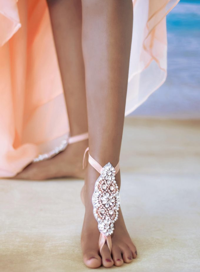 What Shoes To Wear For Beach Wedding Emmaline Bride