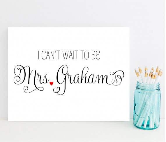 cant wait to be mrs card