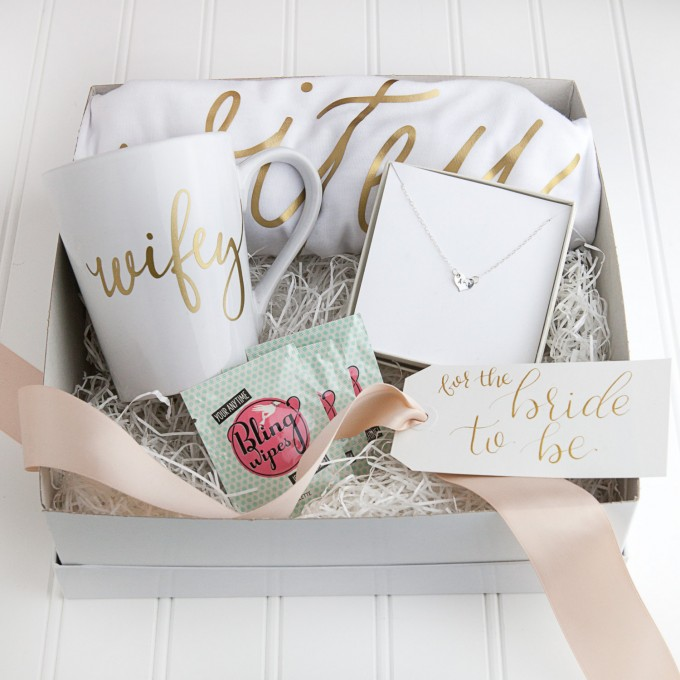Bride Gift Box   by Deighan Design   http://emmalinebride.com/gifts/bridesmaid-gift-box/