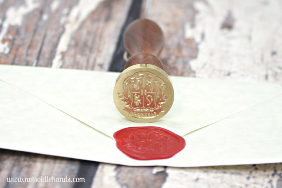 wax seal for harry potter wedding invitations hogwarts - Harry Potter Wedding Invitations