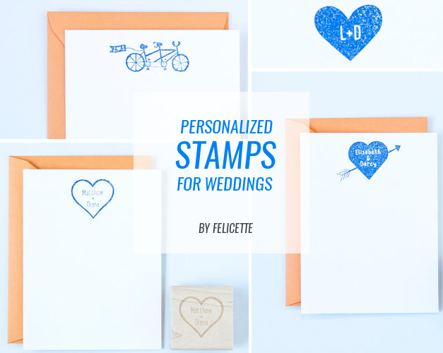 personalized stamps for weddings