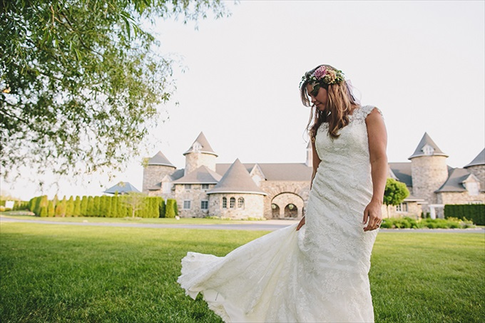 Love Spring Weddings?  A Maypole Inspirational Shoot at Castle Farms in Charlevoix, Michigan | Love Weddings Maypole | http://www.emmalinebride.com/real-weddings/love-spring-weddings-a-maypole-inspirational-shoot/ | Photo: E.C. Campbell Photography