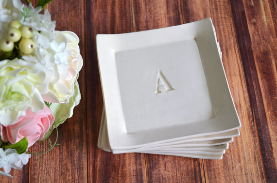 personalized appetizer plates