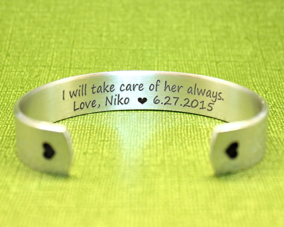 take care of her always bracelet