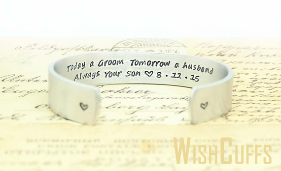 today a groom cuff bracelet