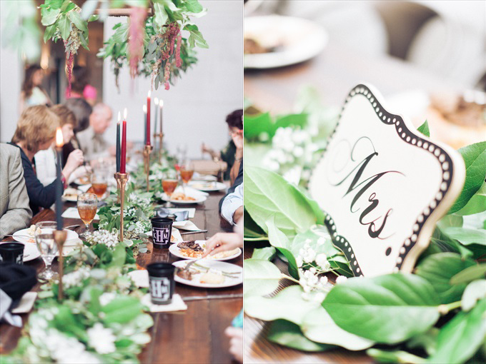 wedding reception table mrs. sign | A Beautiful Sainte Terre Louisiana Wedding(Real Weddings) | http://www.emmalinebride.com/real-weddings/a-beautiful-sainte-terre-wedding-in-louisiana-real-weddings/ | Photo: Photography by Micahla Wilson