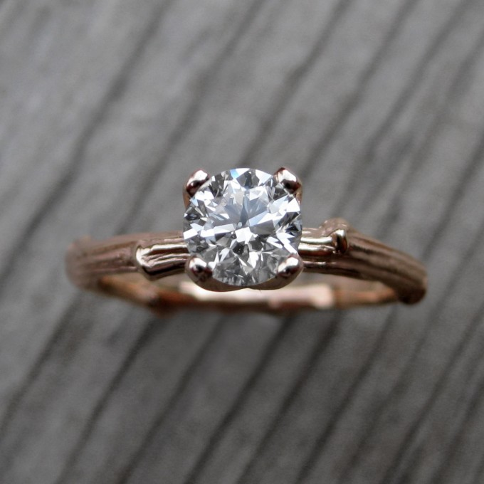 Unique Engagement Rings Etsy   by Kristin Coffin   https://emmalinebride.com/engagement/unique-engagement-rings-etsy/