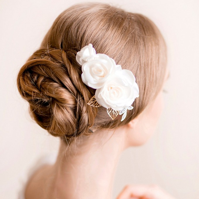 Bridal Hair Accessories For Buns : Beautiful hairstyles accessories for weddings