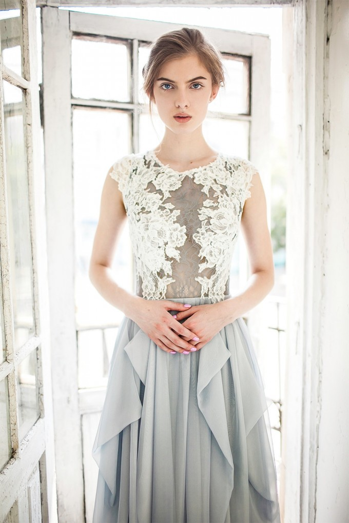 colorful wedding dresses grey wedding dress