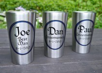 personalized tumblers for groomsmen