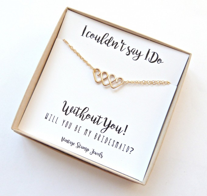 be my bridesmaid jewelry | http://emmalinebride.com/wedding/be-my-bridesmaid-jewelry/ ‎