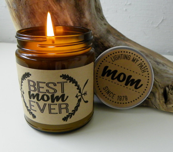 best mom ever candle by definedesignetc | unique gifts for mom