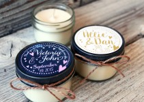 cute candle favors