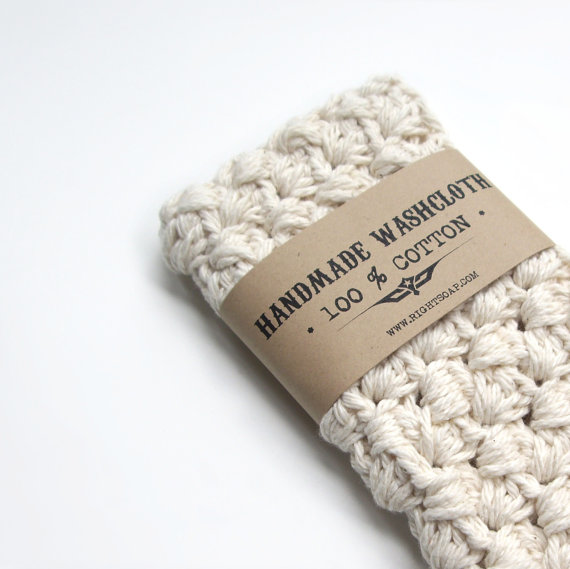 handmade washcloth by RightSoap | unique gifts for mom