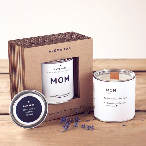 lavender mom candles by AROMALAB | unique gifts for mom