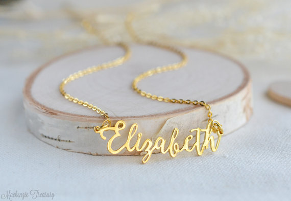 name necklace by mackenzietreasury